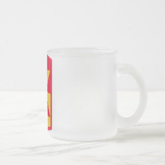 11th Air Defense Artillery Frosted Glass Coffee Mug
