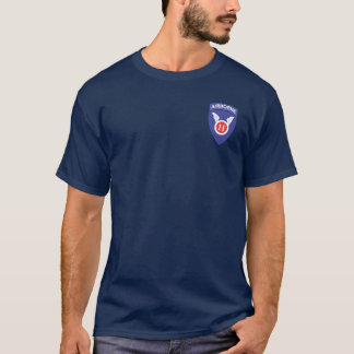 11th Airborne + 511th DUI/Para Wings T-shirts