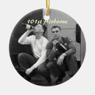 11th Airborne Division Ceramic Ornament