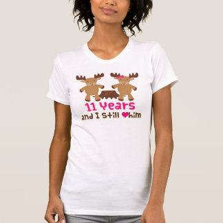 11th Anniversary Gift For Her T-Shirt