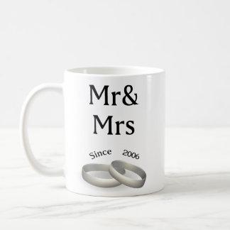 11th anniversary matching Mr. And Mrs. Since 2006 Coffee Mug