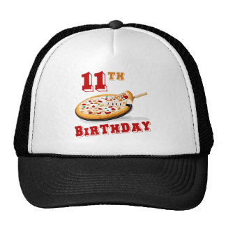 11th Birthday Pizza party Hat