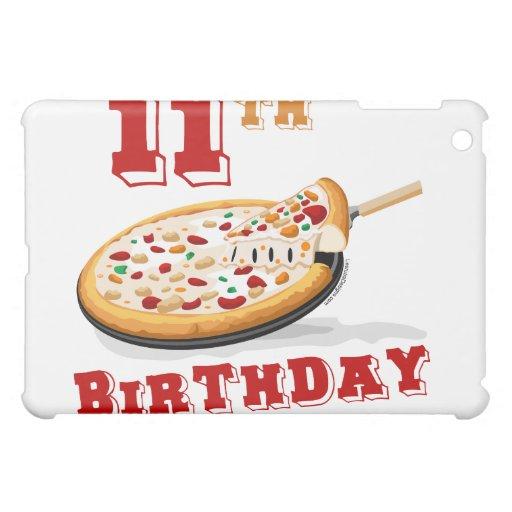 11th Birthday Pizza party iPad Mini Cover