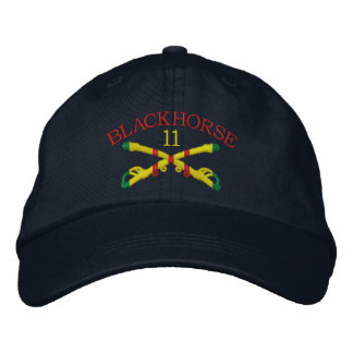 11th Cavalry Sabres Embroidered Hat