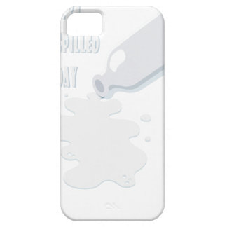 11th February - Don't Cry Over Spilled Milk Day iPhone 5 Covers
