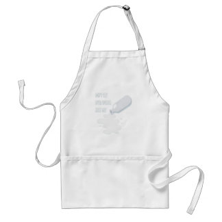 11th February - Don't Cry Over Spilled Milk Day Standard Apron