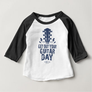 11th February - Get Out Your Guitar Day Baby T-Shirt