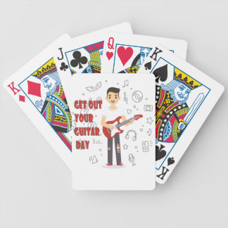 11th February - Get Out Your Guitar Day Bicycle Playing Cards