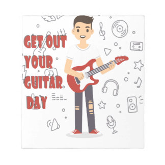 11th February - Get Out Your Guitar Day Notepads