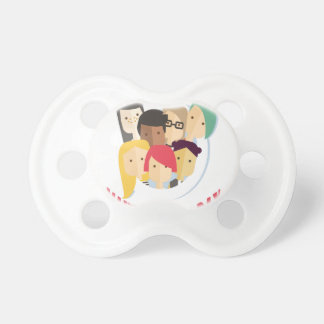 11th February - Make a Friend Day Pacifier