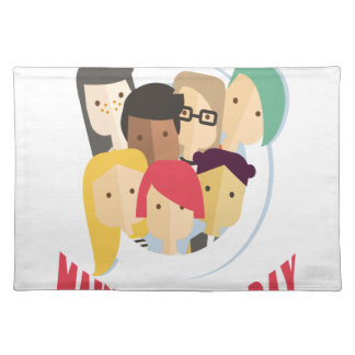 11th February - Make a Friend Day Placemat