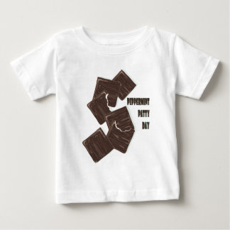 11th February - Peppermint Patty Day Baby T-Shirt