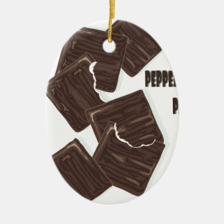 11th February - Peppermint Patty Day Ceramic Ornament