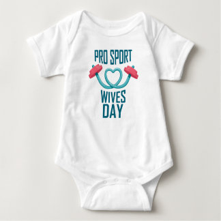 11th February - Pro Sports Wives Day Baby Bodysuit