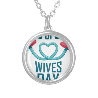 11th February - Pro Sports Wives Day Silver Plated Necklace