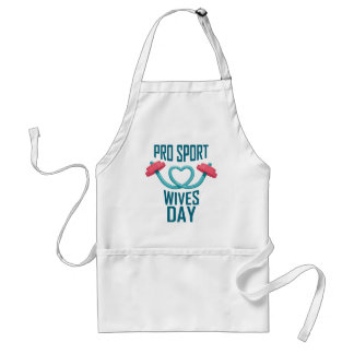 11th February - Pro Sports Wives Day Standard Apron