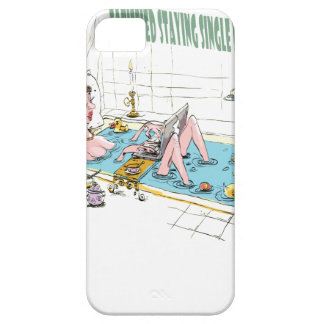11th February - Satisfied Staying Single Day Case For The iPhone 5