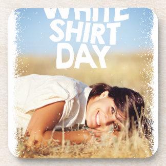 11th February - White Shirt Day Coaster