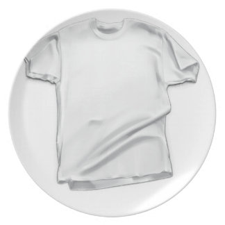 11th February - White Shirt Day Party Plates