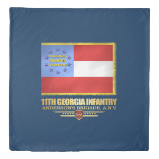 11th Georgia Infantry Duvets Duvet Cover