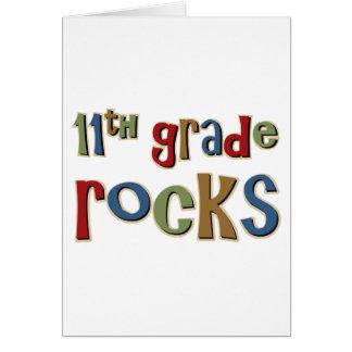 11th Grade Rocks Eleventh Card
