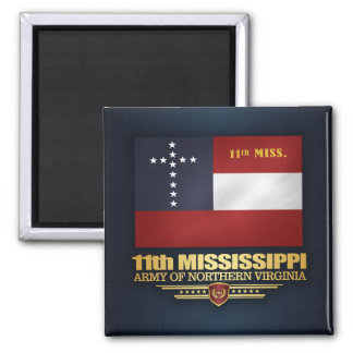 11th Mississippi Infantry Magnet