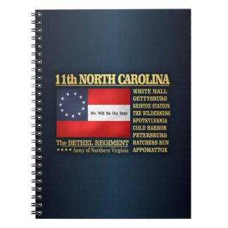 11th North Carolina Infantry (BA2) Notebook