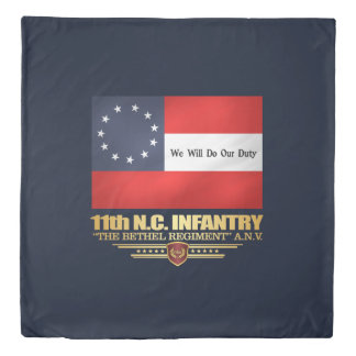 11th North Carolina Infantry Duvets Duvet Cover
