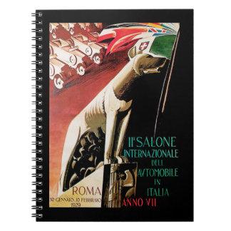 11th Salone Internazionale Automobile ~ Roma Notebooks