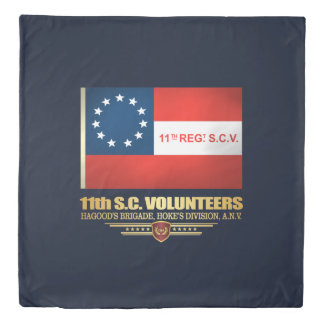 11th South Carolina Volunteer Infantry Duvet Cover
