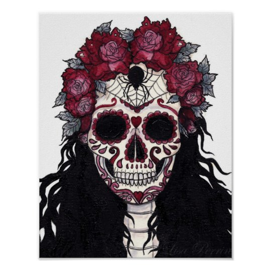 11X14 Day Of The Dead Poster