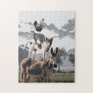 11x14 Puzzle  Animals