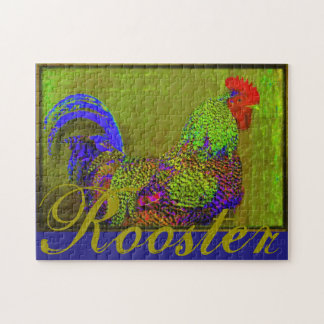 11x14 Rooster Chicken Hen Puzzle