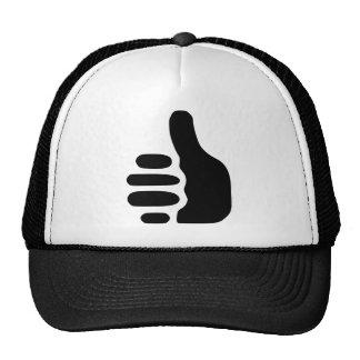 1211544792578456736thumbs-up-black.svg.hi trucker hat
