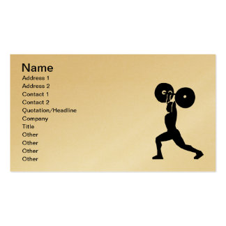 12187847791657656856motudo_WeightLifting.svg.hi Business Card Template