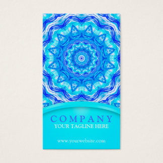 121 Enchanted SeaStar Mandala Business Card