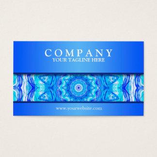 121 Enchanted SeaStar mandala modern Business Card