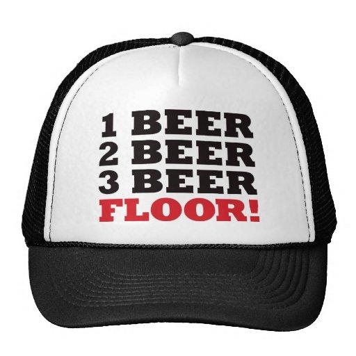 123 Beer Floor - Red Hats