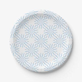 123 Mandala Paper Plate