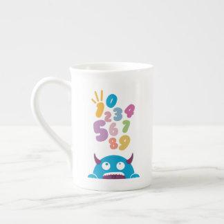 123 Numbers Monster Tea Cup