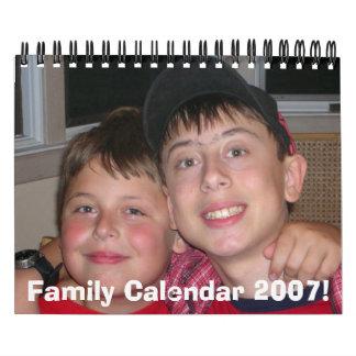 12406cd 001, Family Calendar 2007!