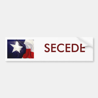 127335585_1229410705, SECEDE BUMPER STICKER