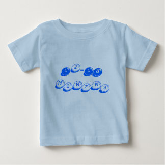'12-18 months'  blue candy t-shirt