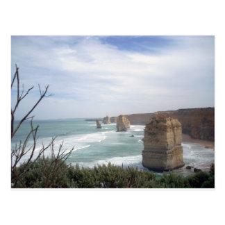 12 Apostel Australia Postcard