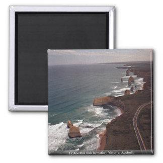 12 Apostles rock formation, Victoria, Australia Magnet