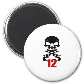 12 Birthday Designs Magnet