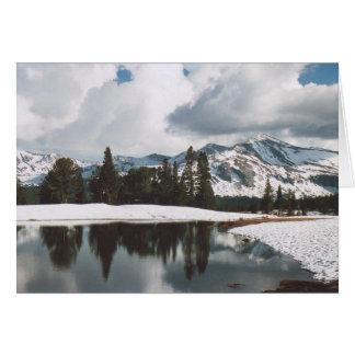 12. Dana Meadows Lake, Yosemite Card