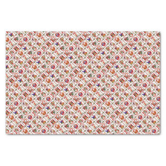 12 Days Of Christmas Quilt Print Tissue Paper