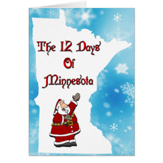 12 Days of Minnesota Card