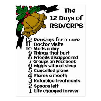 12 Days of RSD/CRPS Postcard
